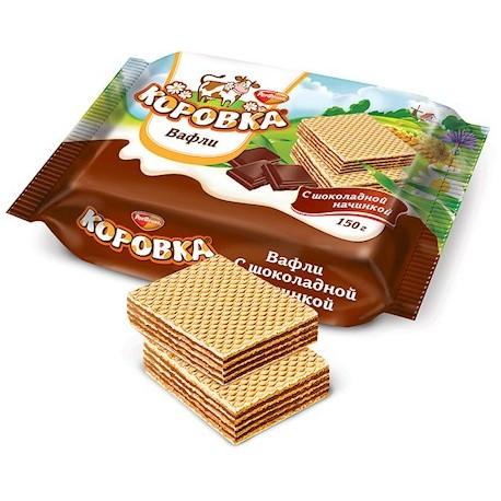 Gaufrettes russes Korovka au chocolat458 x 458 jpeg 52kB