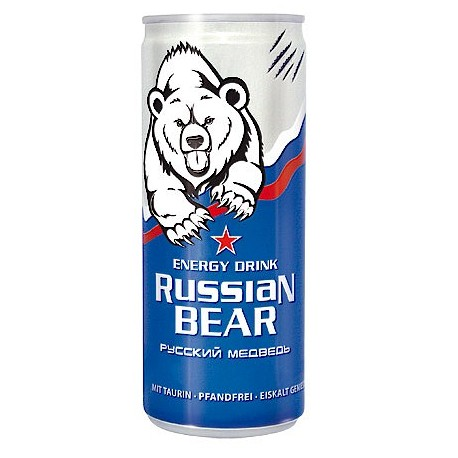ENERGY DRINK OURS RUSSE