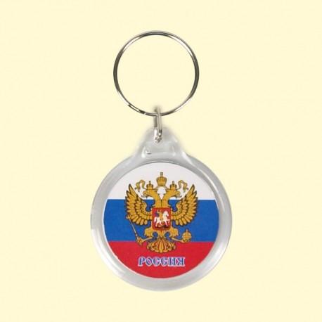 PORTE CLEFS RUSSIE (rond)