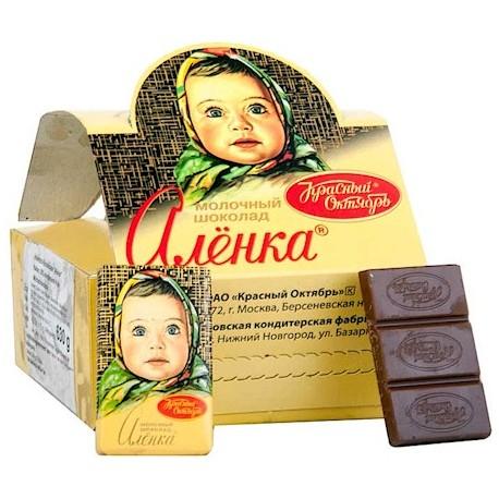 MINI TABLETTE CHOCOLAT ALENKA