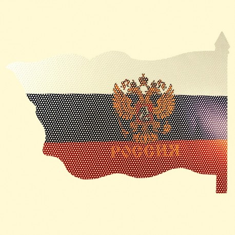 STICKER RUSSIE