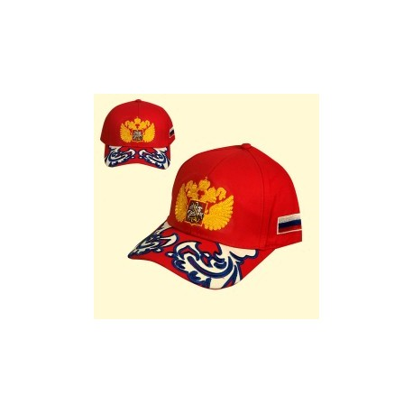 CASQUETTE RUSSE ROUGE