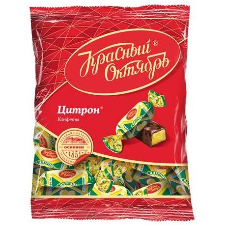 CHOCOLATS CITRON