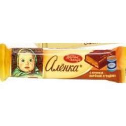 BARRE DE CHOCOLAT ALENKA AU LAIT CONCENTRÉ