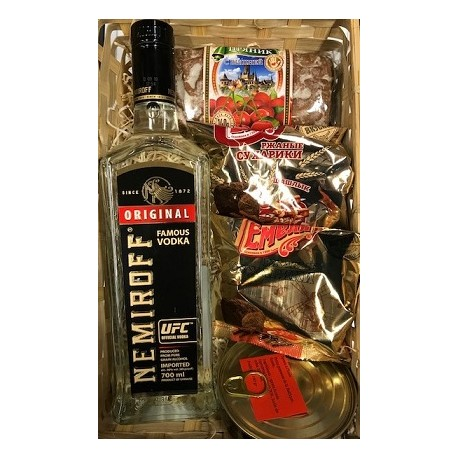 COFFRET VODKA NEMIROFF