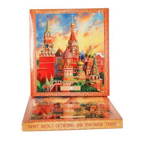 BOITE DE CHOCOLATS MOSCOU