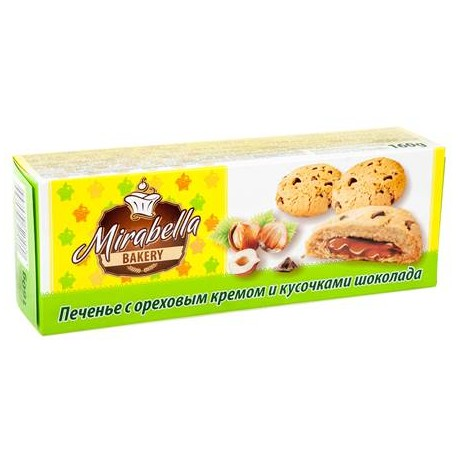 BISCUITS CREME NOISETTE