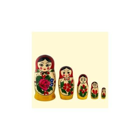 Matriochka traditionnelle 11 cm