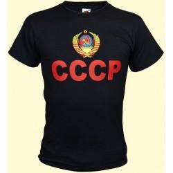 T-SHIRT URSS NOIR