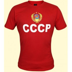 T-SHIRT URSS ROUGE