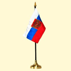 DRAPEAU RUSSE DE TABLE