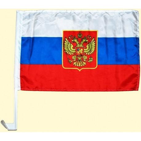 DRAPEAU RUSSE POUR VOITURE