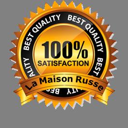Certificat Garantie 100%Satisfaction
